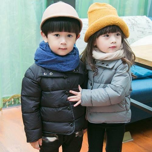童外套棉衣  男女童保暖時尚防風棉衣外套