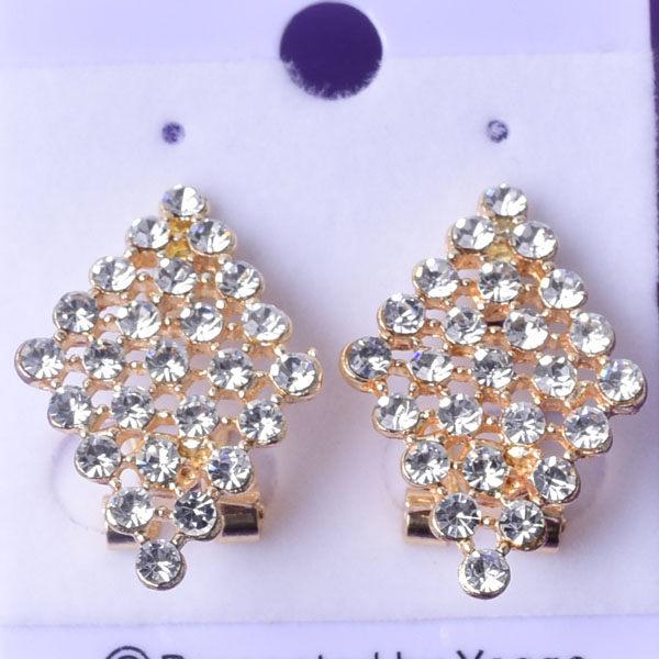 R116 傑克鑽 耳環 簡單時尚 璀璨 鑲 鑽 大方 簡約 耳環 一對 50元 超便宜