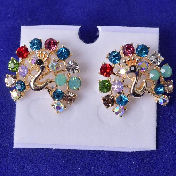 R93 傑克鑽 耳環 簡單時尚 璀璨 鑲 鑽 大方 簡約 耳環 一對 50元 超便宜