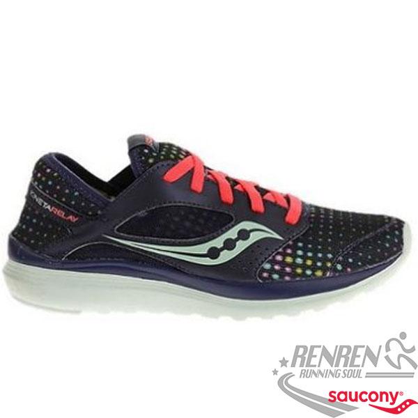 SAUCONY KINETA 女慢跑鞋 (深藍) 避震 輕量.透氣