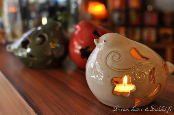 超可愛陶瓷小鳥造型燭臺《3色任選》★鄉村風★