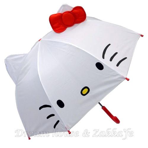 日本限定 正版三麗鷗 Sanrio 凱蒂貓 造型兒童雨傘《 Hello Kitty 》 ★ Zakka'fe ★