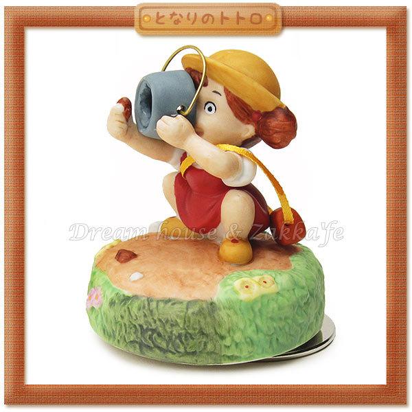 日本宮崎駿 Totoro 龍貓 陶瓷音樂鈴/音樂盒 小梅與橡實 《 日本原裝進口 》Zakka'fe