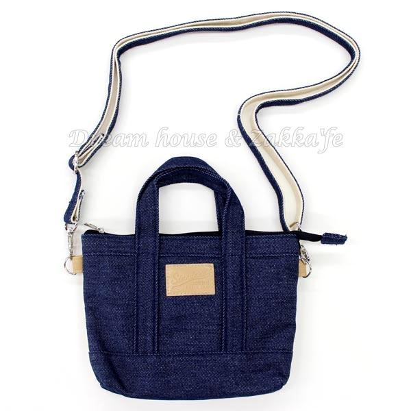 日本進口 牛仔款 可斜背 小物袋/手機袋/萬用袋/隨身包 《 可直接觸控手機喔 》 ★ Zakka'fe ★