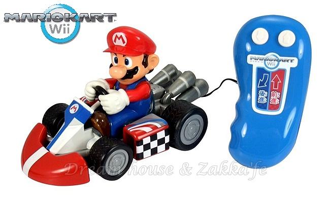 日本正版 任天堂 Mario 瑪莉歐/馬力歐 遙控汽車/賽車玩具 《 wii 馬力歐賽車款 》 ★ 超可愛 ★ Zakka'fe