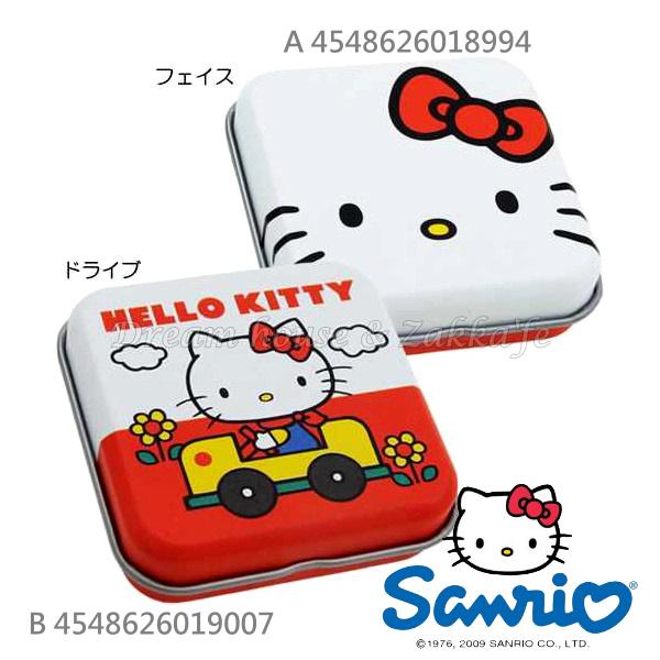 日本原裝進口 sanrio 三麗鷗 Hello Kitty 凱蒂貓 迷你小物置物盒/鐵盒 《 2款任選 》★ 日本製 ★ Zakka'fe