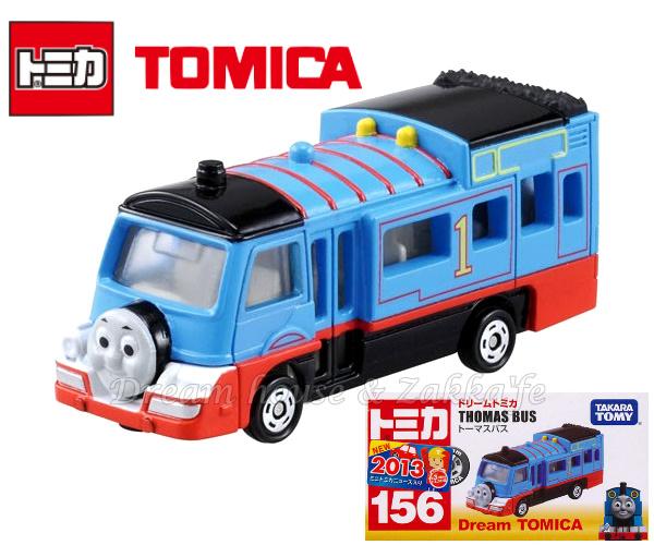 日本【トミカ】THOMAS BUS 湯瑪士小火車 小汽車玩具 《 Dream TOMICA 》 ★ Zakka'fe ★