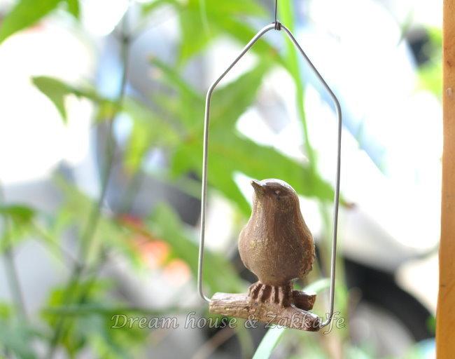 ZAKKA 鄉村風 鞦韆小鳥 園藝吊飾 《 復古仿舊感 》 ★ 可愛漂亮 ★