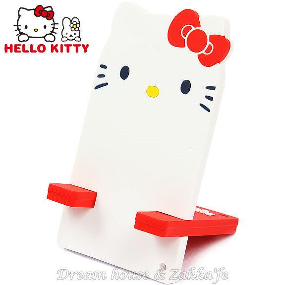 日本限定 正版三麗鷗 Sanrio Hello Kitty 組合式手機座/手機架 《 組合式 攜帶方便 》★ Zakka'fe ★