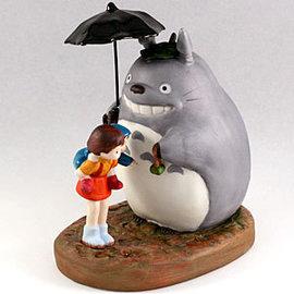 日本宮崎駿 Totoro 龍貓 陶瓷音樂鈴/音樂盒 龍貓撐傘 《 日本原裝進口 》Zakka'fe