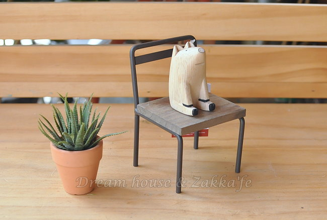 Zakka 南法鄉村風 仿舊復古 小椅子造型花架/盆栽架《 可當展示座 》★很漂亮喔★ Zakka'fe