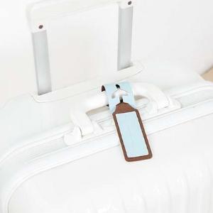 美麗大街【BF078E19】學生防丟防拿錯旅行包包掛牌標識牌飛機登機牌行李箱托運牌
