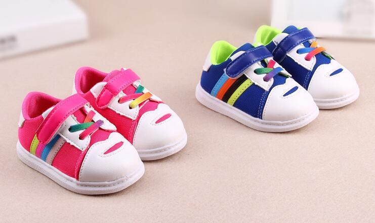 韓版透氣網面寶寶鞋嬰兒鞋