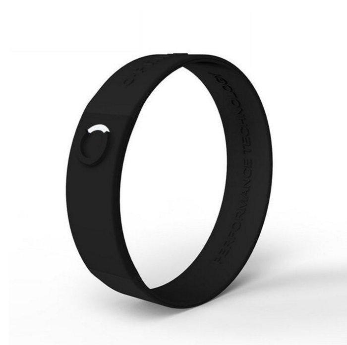 UFC MMA體驗美國科技平衡手環C.Prime手環~頂尖運動員的致勝關鍵~健身房時尚手環-黑黑