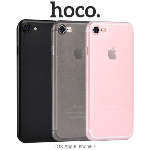 【愛瘋潮】HOCO Apple iPhone 7 薄系列 PP 殼 背殼 保護殼 磨砂殼 輕薄保護套 手機殼