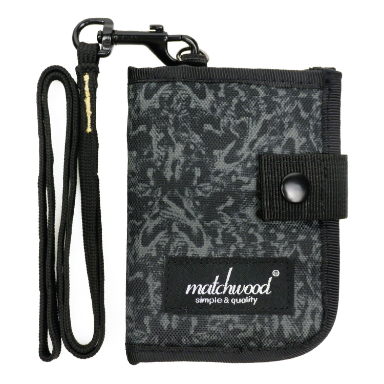 REMATCH - Matchwood Element 多功能零錢包 MORO迷彩款 頸掛包 鑰匙包 信用卡夾 證件套 悠遊卡套 錢包 卡夾 STUSSY / Herschel / master-piece / HEADPORTER 可參考
