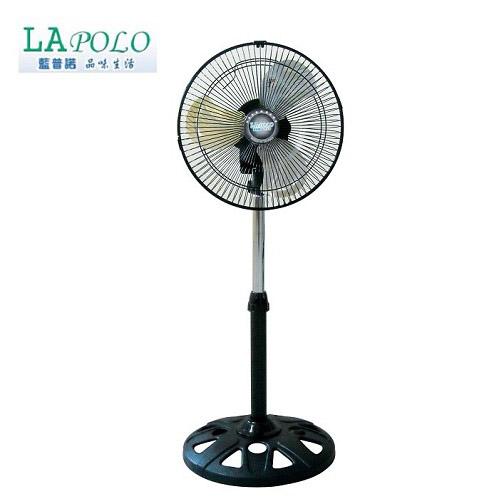 【LAPOLO藍普諾】12吋360度旋轉伸縮立扇FR-1228