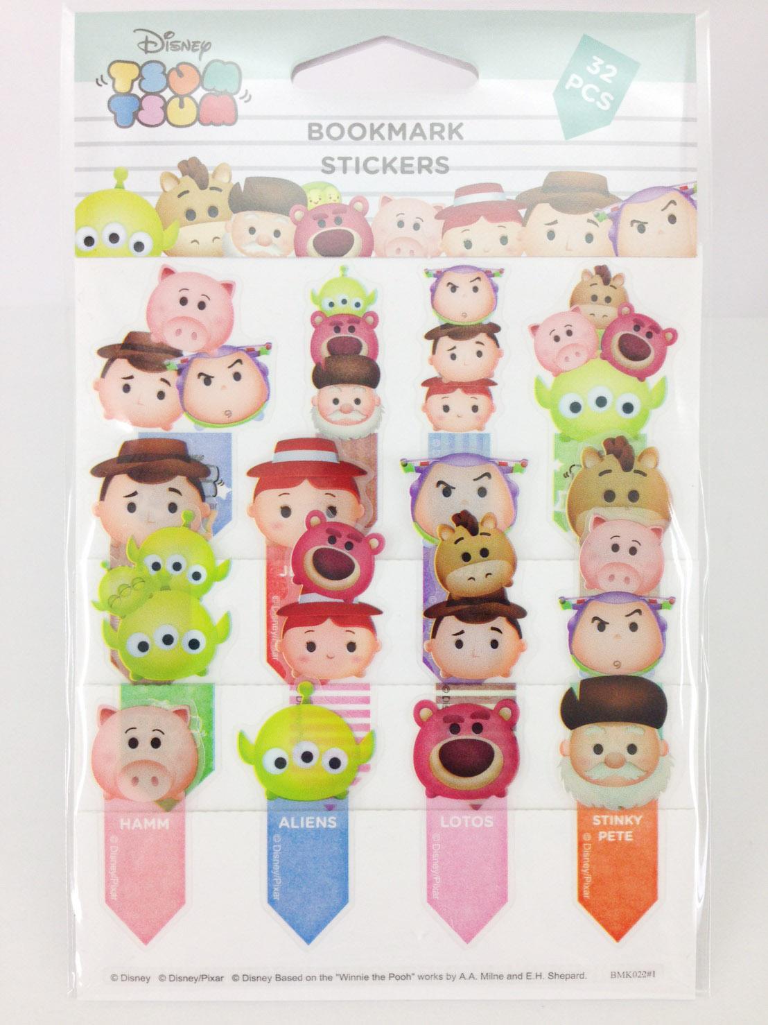 【真愛日本】16033000033TSUM書籤貼紙-玩具總動員  迪士尼 玩具總動員 TOY  文具 正品 限量