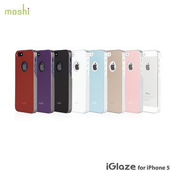 moshi iGlaze for iPhone 5/5s 超薄時尚保護背殼