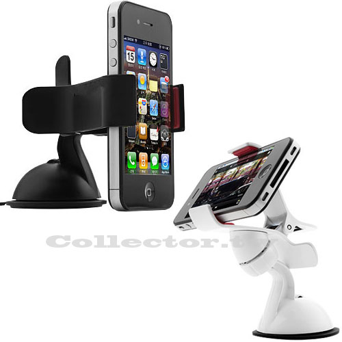 【T14082901】車用360°旋轉導航架 智慧型手機 iphone / 三星 / htc 汽車用支架