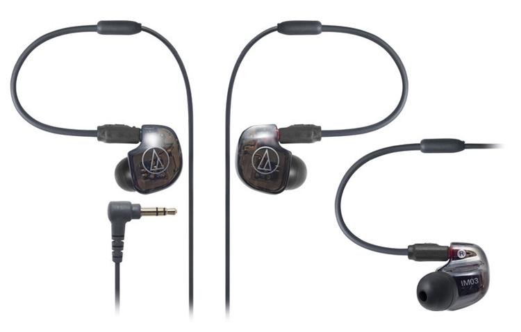 {音悅音響MUSIC HI-FI}鐵三角 ATH-IM03 三單體平衡電樞 可換線 入耳式耳機 公司貨
