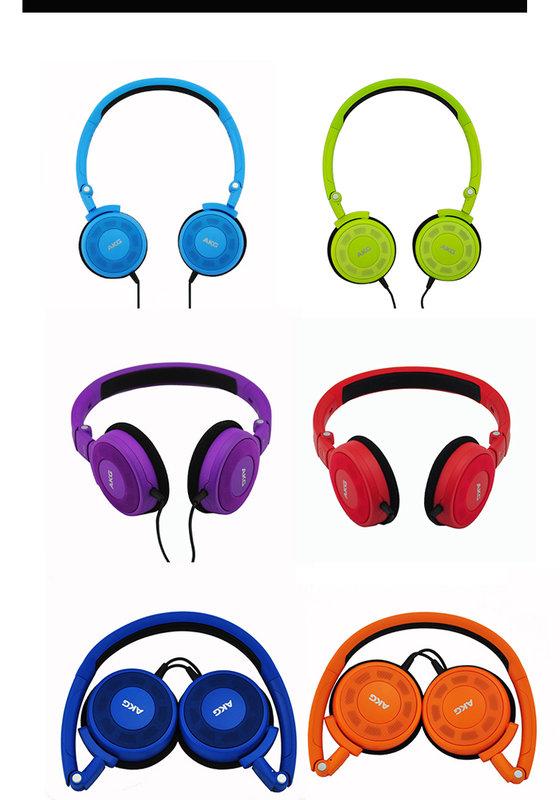 {音悅音響MUSIC HI-FI}奧地利 AKG K420 彩色 街頭 耳罩式耳機 攜帶方便