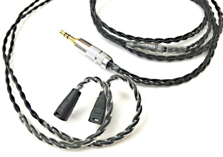 {音悅音響MUSIC HI-FI}Silver Black (4 wire) (MMCX、IE80) 耳機升級線