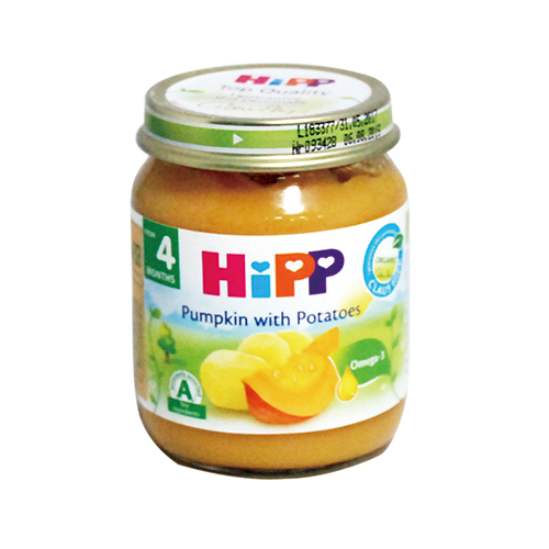 HiPP喜寶 南瓜馬鈴薯泥