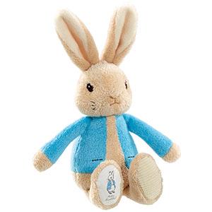 彼得兔小玩偶(19cm)藍色