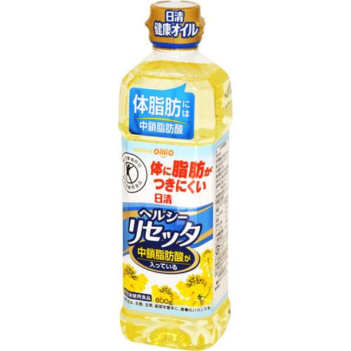 [限時特價] NISSIN日清健康芥籽油 600g (適合油炸,煎炒) 添加中鎖脂肪酸 控制體脂肪形成
