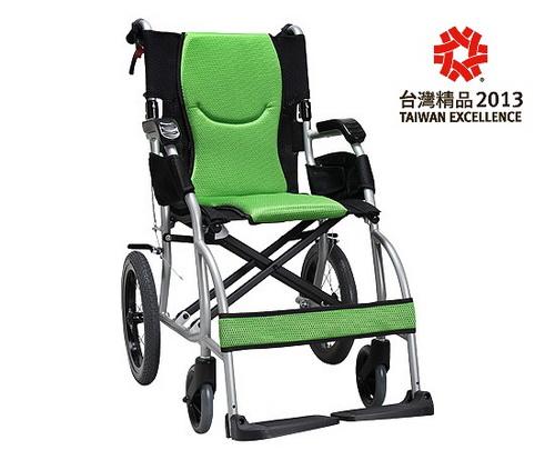 康揚 鋁合金手動輪椅 旅弧KM-2501~超輕量型 贈好禮三選一