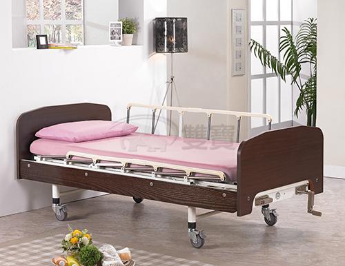 病床 立新手搖護理床(兩手搖式) C01 手動病床