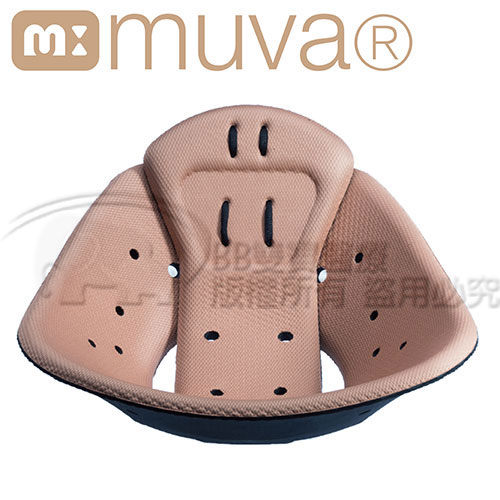 MUVA-美姿俏臀塑身墊(亞麻棕) SA1505BR