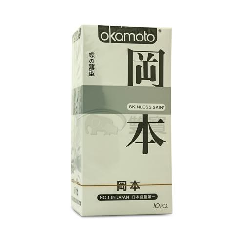 保險套 Okamoto岡本 蝶薄型Skinless1000-10片裝