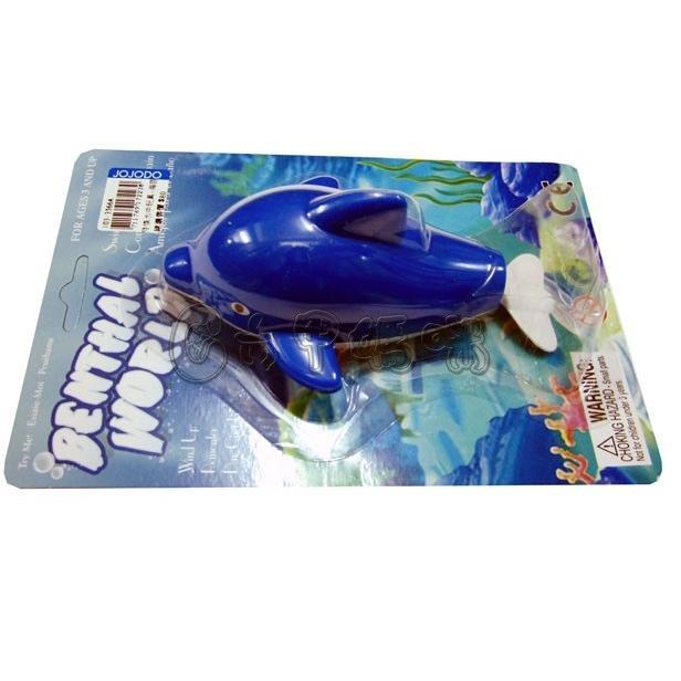 發條水中玩具/海豚【六甲媽咪】