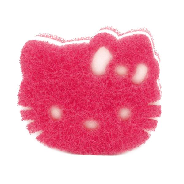 【DUSKIN】樂清Hello Kitty菜瓜布1入