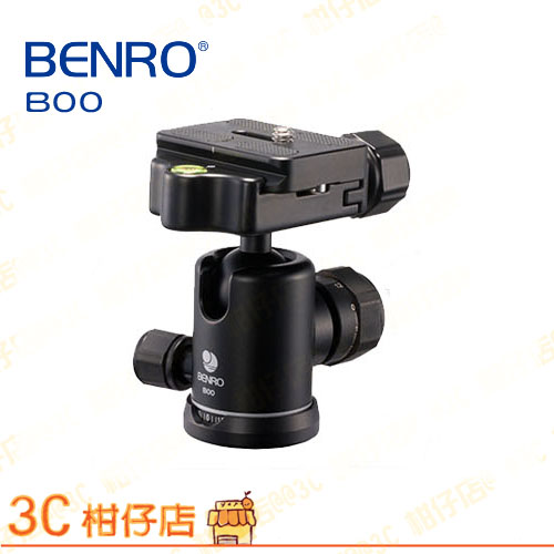 百諾 BENRO B00 球型雲台 鎂合金 承重6kg  3/8 螺口 全景拍攝  另有 slik fotopro Velbon