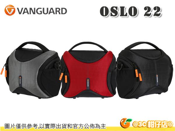 VANGUARD 精嘉 OSLO 22 單肩相機包 單眼 隨身包 1機2鏡1閃 7吋平板 公司貨
