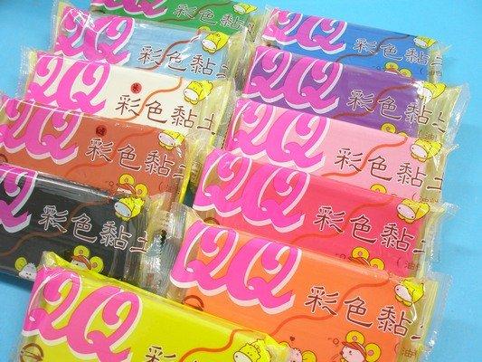 QQ彩色黏土 油黏土 油粘土 油土 油性黏土400g【一件60個入】 定[#70]