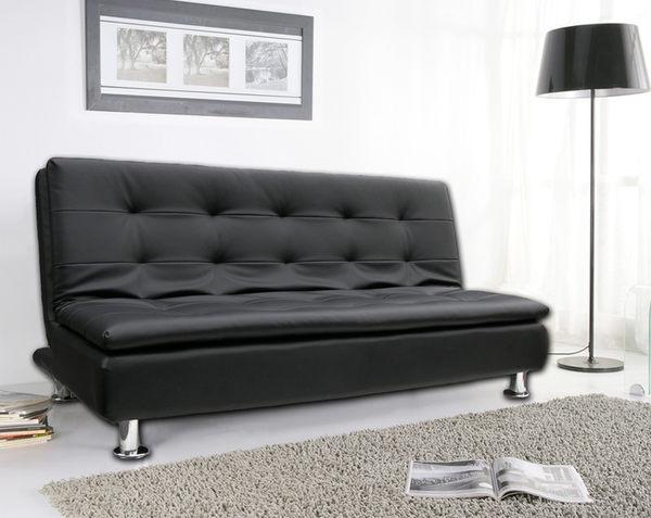 Design【美式三線護背】皮革多人座沙發床 ★班尼斯國際家具名床