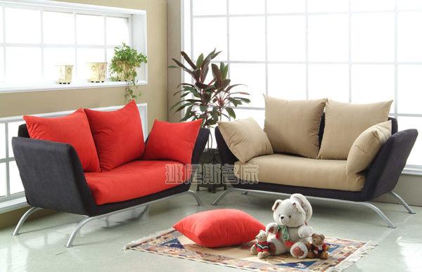 【卡布里北歐風情】沙發床(153顆獨立筒機心坐墊) ★班尼斯國際家具名床