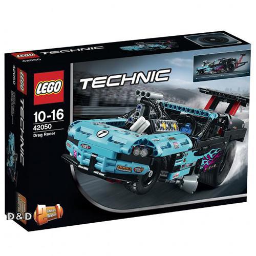樂高積木LEGO《 LT42050 》2016 年 Technic 科技系列 - 短程高速賽車