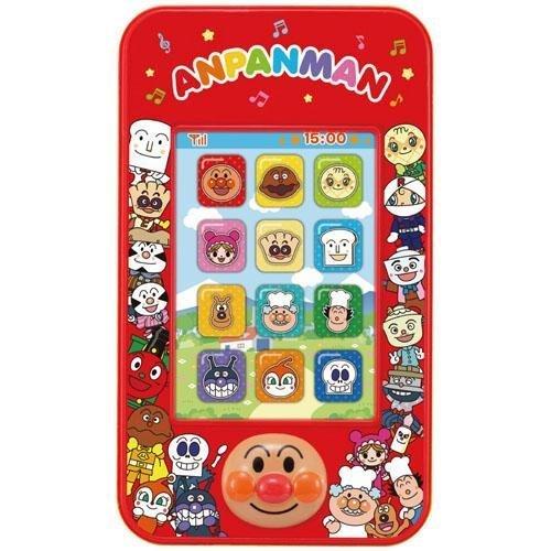 日本代購預購 滿600元免運費 麵包超人 手機玩具 音樂玩具 兒童玩具 707-225