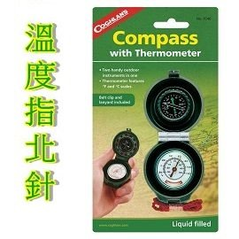 [ Coghlans ] 溫度指北針 / CAMPASS THERMOMETER / 9740