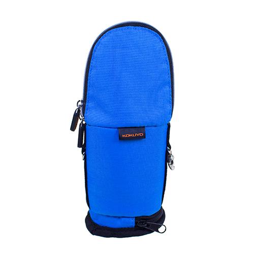 【KOKUYO】  critz多功能直立式筆袋-小(藍色) PC008-B