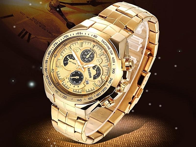 《316小舖》【PK08】(優質不銹鋼石英手錶-30米防水手錶(可洗澡)-單件價 /流行手錶/時尚手錶/白鋼男女手錶)