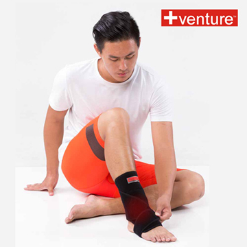 【+venture】家用腳踝熱敷墊(KB-1230),加贈行動收納包