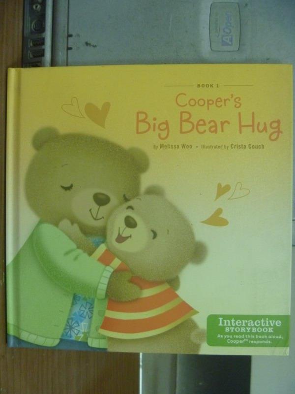 【書寶二手書T1/語言學習_KSS】Cooper's big bear hug