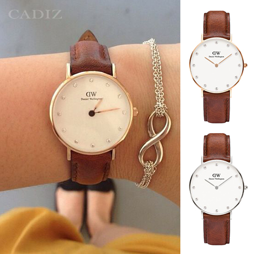 【Cadiz】瑞典DW手錶Daniel Wellington 0950DW玫瑰金 0960DW銀 St Mawes 34mm [代購/ 現貨]