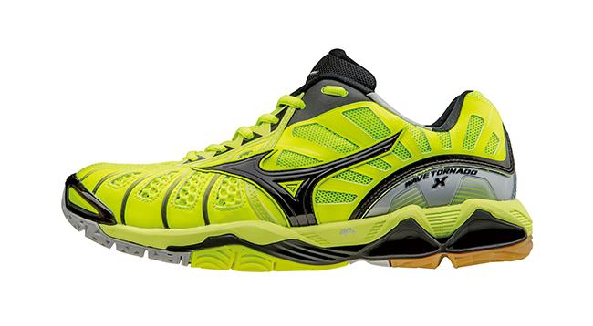 [陽光樂活]美津濃MIZUNO WAVE TORNADO X 頂級排球鞋 V1GA161245 (螢光綠x黑)